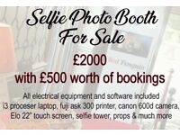 Selfie photo booth business for sale