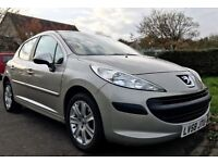 207 SE PREMIUM, low mileage , brilliant condition inside and out