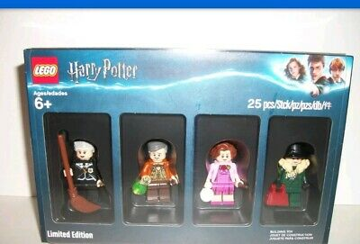 Lego New Harry Potter Exclusive Minifigure Set Limited Edition - 4 minifigures