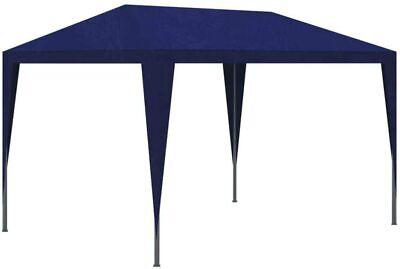 VidaXL Partytent Outdoor Garden Gazebo Blue 3 x 3m