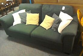 Sofa dark grey #28005 £89