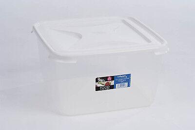 Wham 15 Litre High Grade Plastic Food Storage Box Container