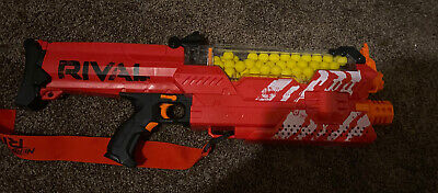 Nerf Rival Nemesis Blaster MXVII-10K - Red Great Condition, Used Once