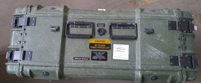 HARDIGG PELICAN Rack Mount Case General Dynamics 6U Military Electronics qty