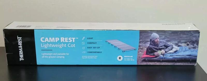 Thermarest Camp Rest Lightweight Cot In Original Box