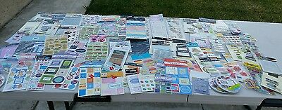 Huge Lot of Scrapbook Embellishments - Over 100 packages,  ALL NEW