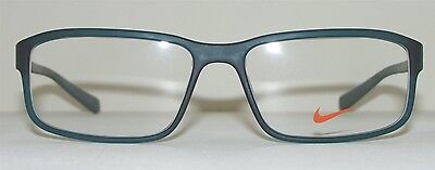 NIKE Men's Eyeglasses 7108 320 Very Lightweight Glasses Green Frame 54-15-140