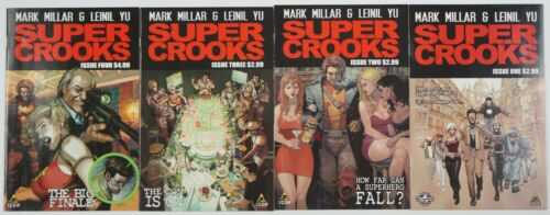 Super Crooks #1-4 VF/NM complete series mark millar lenil yu supercrooks netflix