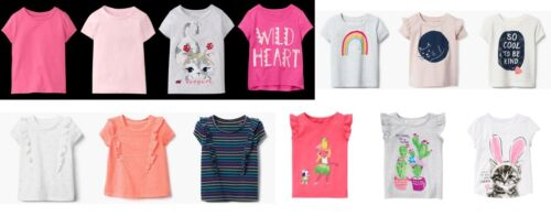 NEW GYMBOREE girls summer short sleeve tee (2) size 3T 4T 5T YOU PICK
