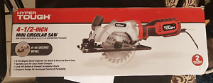 "Hyper Tough 4 1/2 "" Mini Circular Saw ~New in Open Box"