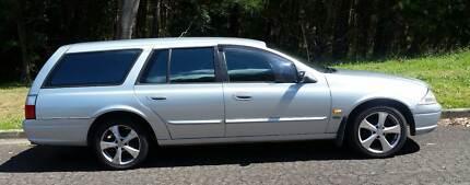 The perfect Car Camper- Ford Falcon Futura  2001