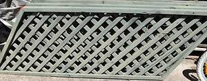 4 x Angled Wooden Lattice panels Lalor Park Blacktown Area Preview