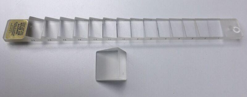 Gulden Ophthalmics - Vertical Prism Bar - Berens B-14