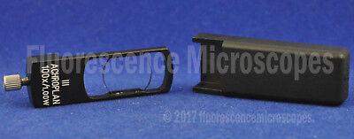 Zeiss Microscope Dic Slider 444485 For Acpl 100x1.00 W Iii