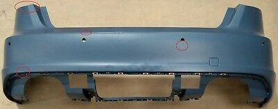 GENUINE AUDI A3 S3 SPORTBACK REAR PRIMED PARK ASSIST BUMPER COVER for sale  Shipping to Ireland