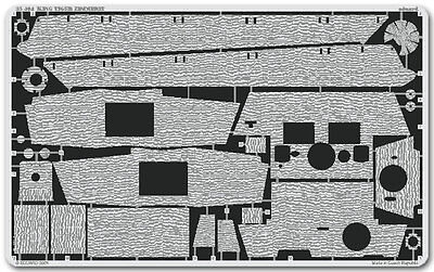EDUARD 35404 1/35 PE ZIMMERIT for TAMIYA KING TIGER HENSCHEL PRODUCTION 35164