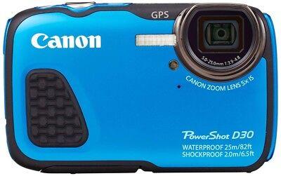 Gebrauchte Canon Digital Wasserdichte Kamera Power Shot D30 5x Optisch Zoom ()