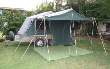 Cape York Camper Trailer Ready For Travel Westcourt Cairns City Preview