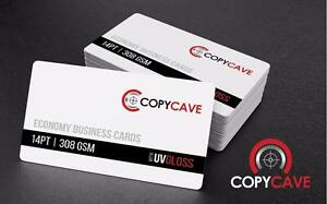 Cheap Business Cards | Business Card Printing on heavy 14pt Stock, only $28.69 for 500! | Flat-rate design available
