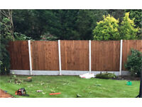 🍁PRESSURE TREATED HEAVY DUTY WOODEN FENCE PANELS