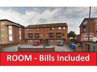 *BILLS INCLUDED* Single Room To Let In a Shared Accommodation *DSS and Students Welcome*