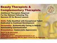 Beauty Therapist & Complementary Therapist