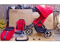 Phil & Teds Navigator v2 Auto Stop Double Buggy / Pushchair / Stroller