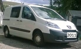 Peugeot Expert Professional van with windows 2011 - No VaT - long MoT