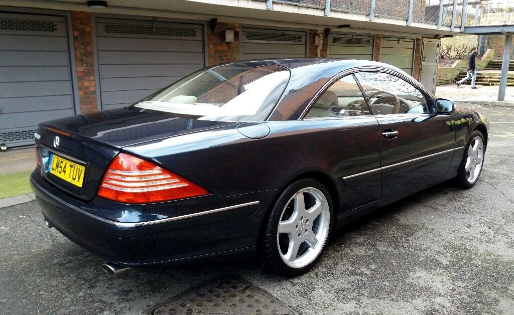 2005 mercedes cl500 facelift model sat nav xenon 19 amg alloys fsh with low mileage in hornsey. Black Bedroom Furniture Sets. Home Design Ideas