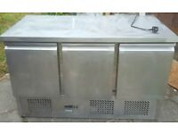 Stainless steel counter top fridges