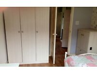 LARGE BESPOKE 3DOOR WARDROBE £150 & CONDENSER DRYER FOR SALE DUE TO MOVING HOUSE OPEN TO OFFERS