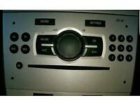 VAUXHALL CORSA D STEREO HEAD UNIT CD PLAYER CD 30