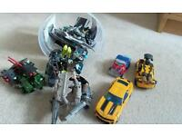 Transformers - tub of mixed toys- over £60 new