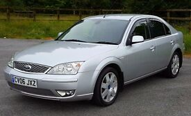 2006 Ford Mondeo GhiaX 2.2 TDCi, March MOT, Serviced with Service History, Leather, Climate, Cruise