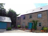 Furnished 1 bed Annexe Veryan in Roseland Short Term Lease