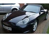 2003 (53) Black Porsche boxster with FSH