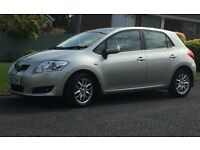 2008 TOYOTA AURIS TR D-4D 5 Door Hatchback Diesel 98,000 mil. Only 2 owners. MOT til 29 Mar 18