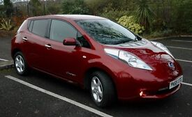 Nissan Leaf Acenta October 2015 With Power Saving Cabin Heater Full Electric Car Only 8,000Miles