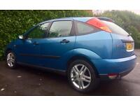OWNED 13 YEARS FORD FOCUS ZETEC EXCELLENT DRIVE MOT 19.7.17 ELEC SUNROOF AIRCON