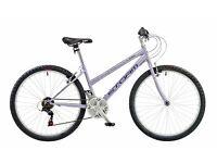 Brand new with receipt 18 speed Claud Butler Ladies mountain bike