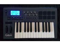 Midi Keyboard M-Audio Axiom 25 USB PC Composing DJ Controller