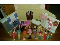 Moxie Dolls and House Bundle