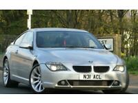 2007 BMW 630i 3.0 SPORT AUTOMATIC 260 BHP 2DR COUPE++UPGRADED EXHAUST SYSTEM++