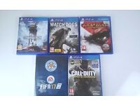 Playstation 4 Games (PS4 games) swap only