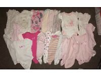 Baby girls clothing bundle. All 0-3 months'