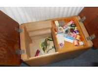 Stool with Storage, Toy Box, Sewing Box, Piano Stool