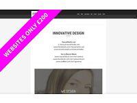 Web Design - Wordpress - Print Design - Logo Design - Branding - Video Editing - Sound Design