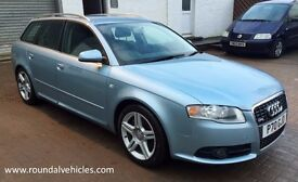 BEAUTIFUL 2005 Audi A4 Avant 2.0 T SLine s-line Est 140k, Mot Sept17,New tyres