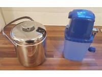 Ice Bucket & Ice Crusher