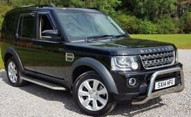 DISCOVERY COMMERCIAL. REAR SEAT CONVERSION. OVER £10K OF EXTRAS NEW
